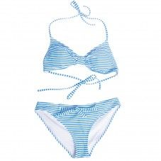 Sihlsee (blue-white stripes) Alprausch bikini for sunbathing and swimming Bikinis, Swimwear, Beachwear, Blue And White, Swimming, Stripes, Fashion, Bathing Suits, Beach Playsuit