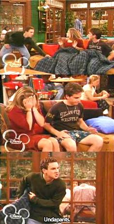 boy meets world UNDAPANTS