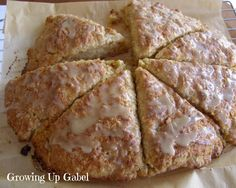 Maple Oatmeal Scones - Growing Up Gabel perfect for #breakfast #healthyrecipe