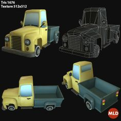 Low Poly Truck