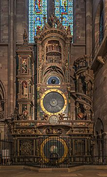Strasbourg Cathedral astronomical clock - Wikipedia, the free encyclopedia