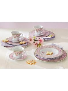 "Home Affaire ""butterfly"" Porselain Tableware #hightea"