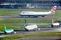Heathrow traffic and business commentary November 2012 - British Airways Boeing 747 400