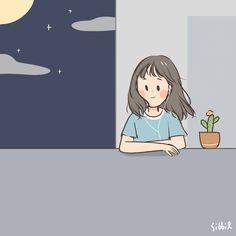 You're my favorite song 🎵🎶 Cute Art Styles, Cartoon Art Styles, Character Art, Character Design, Anime Scenery Wallpaper, Dibujos Cute, Kawaii Wallpaper, Cute Cartoon Wallpapers, Cute Illustration