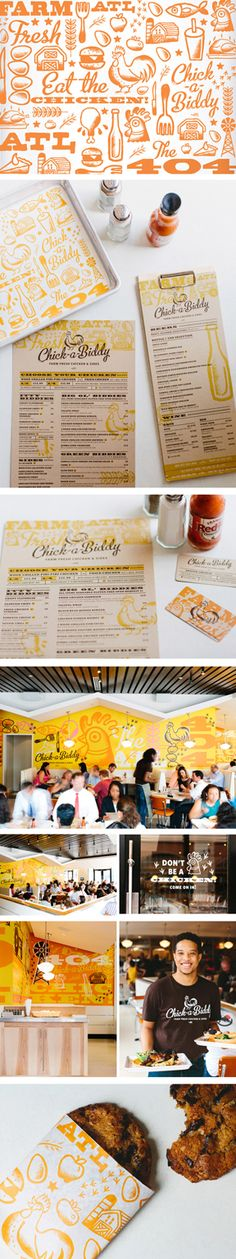 Chick-a-Biddy Farm Fresh Chicken & Sides is a southern cooking inspired chicken restaurant with a twist. Located in Atlanta, GA. The overall concept rooted in southern cuisine, is never pretentious, always delicious. Chick-a-Biddy strives to serve food that is raised properly and is in fact better for us. Chick-a-Biddy just as the name suggests is well crafted southern cooking which is exactly what we wanted our brand to reflect.