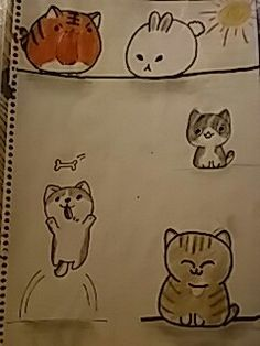Cat Sketch, Snoopy, Cats, Fictional Characters, Gatos, Cat Doodle, Cat, Fantasy Characters, Kitty