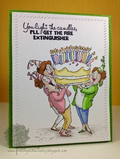 "Featuring Art Impressions' ""Giant Cake Set"" SKU 760923 available at www.addictedtorubberstamps.com"