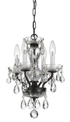 1STOPlighting.com | Four Light Mini Chandelier