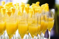 mimosa brunch - the day of or after debautchery?