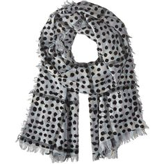 Marc by Marc Jacobs Painted Dot Gingham Scarf (Black Multi) Scarves ($55) ❤ liked on Polyvore featuring accessories, scarves, black, marc by marc jacobs scarves, polka dot scarves and marc by marc jacobs