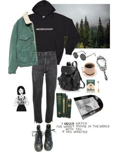 I need this hoodie - outfit ideas - # hoodie # Ideas - - Mode Outfits, Grunge Outfits, School Outfits, Fall Outfits, Casual Outfits, Fashion Mode, 90s Fashion, Korean Fashion, Fashion Outfits