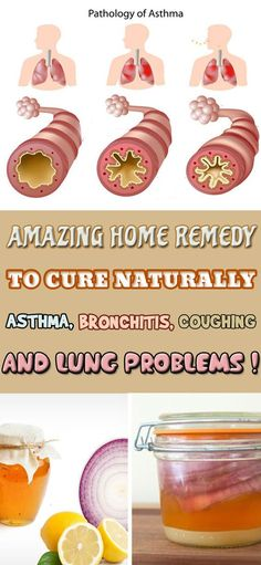 Amazing Home Remedy to Cure Naturally Asthma, Bronchitis, Coughing And Lung Problems!