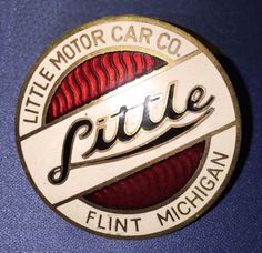 Little Motor Car Co. Enamel Radiator Badge