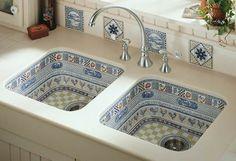 very unique kitchen sink