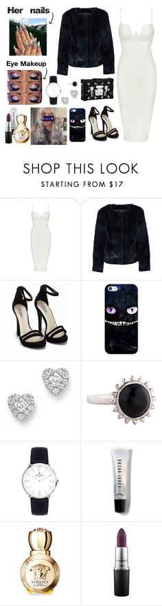 """""""Kat  #OPO2"""" by cissylion ❤ liked on Polyvore featuring Posh Girl, Louis Vuitton, Nly Shoes, Casetify, Bloomingdale's, Eddie Borgo, Bobbi Brown Cosmetics, Versace and MAC Cosmetics"""