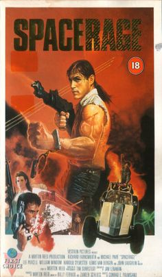 UK VHS of Space Rage (Conrad E. Palmisano, 1985)