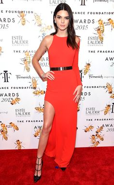 Fragrance Foundation Awards, New York - Kendall Jenner in Halston and Christian Louboutin - June 17, 2015