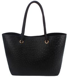 CF005O Orstrich Classic Shopper Tote Bag