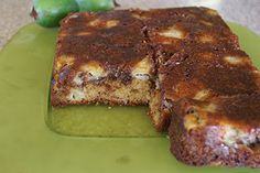 Feijoa cinnamon cake recipe, Regional Newspapers – visit Eat Well for New Zealand recipes using local ingredients - Eat Well (formerly Bite) Cinnamon Cake Recipes, Fruit Recipes, My Recipes, Cooking Recipes, Guava Recipes, Recipies, Square Cake Pans, Square Cakes, Lime Cake