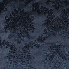 Embossed velvet m blue w wallpaper look Blue Crush, Embossed Wallpaper, Crushed Velvet, Pattern Wallpaper, Matcha, Decoupage, Texas, Textiles, Sewing