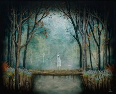 Andy Kehoe for Thinkspace Gallery.  Thinkspace Gallery will be displaying works by Andy Kehoe at their SCOPE Miami booth December 3rd through the 7th in Miami Beach, Florida.  Kehoe creates his paintings by creating layer after layer of resin, each layer having a bit of painting on it, so that the end product is an ethereal, three dimensional work of art.