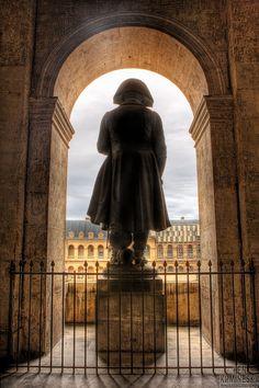 Statue of Napoleon Bonaparte at les Invalides in Paris
