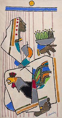 Autumn Art Auction - M.F. Husain, Untitled