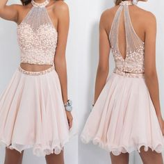 DHgate is the best place to make a comparison for blush homecoming dresses. Compare prices on blush homecoming dresses to find great deals and save big. 8th Grade Dance Dresses, 8th Grade Formal Dresses, Banquet Dresses, Sequin Prom Dresses, Hoco Dresses, Pretty Dresses, Dress Outfits, Dresses 2016, 8th Grade Outfits
