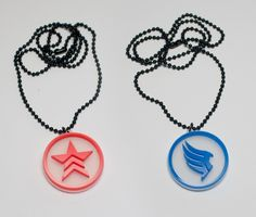 Mass Effect Renegade and Paragon Pendant kit by BestGamersShop