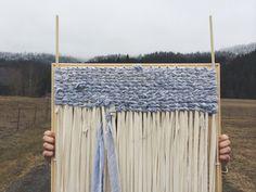 wildcraft studio school - weaving a rag rug