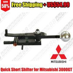 Quick Short Shifter for Mitsubishi 3000GT SL/VR4 Turbo & Non turbo 91-99 – Autobahn88 – CAPP084-Free Shipping