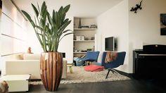 #Strelitzia #plant #modern #design