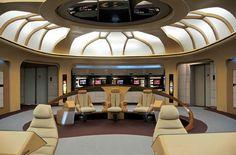 Star Trek Prop, Costume & Auction Authority: The Star Trek: TNG Bridge Replica from Star Trek: The Experience