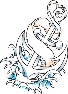 Anchor Tattoo.