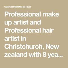 Professional make up artist and Professional hair artist in Christchurch, New zealand with 8 years experience in people feeling glamorous for parties, anniversaries, corporate events, balls, weddings, photo shoots, run way, shows.  - Jasmine Stacey, Professional Makeup, Nails, Beauty salon in Christchurch