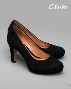 The most comfortable and chic pumps ever - especially for girls with a little weight. Anika Kendra from Clarks