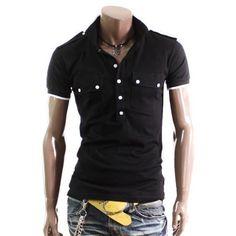 Doublju Mens Casual Short Sleeve Tshirts(T91)