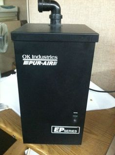 OK Industries PUR Air Extraction Filter System EP 051 Solder Fume Extractor | eBay