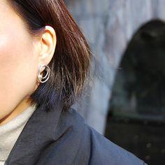#silver #pearl #earrings by #joidart