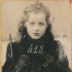 Amy Yolande Horowitz: Born on June 2, 1933 in Strasbourg. Last lived at 21, rue Rode, Bordeaux. Interned in the Lalande camp near Tours and then transferred to Drancy. From there, she, her mother Frieda, and her sister Paulette, age 7, were deported on Sept. 11, 1942 on Convoy 31. Their destination: Auschwitz-Birkenau