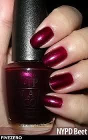 OPI NYPD Beet -loved this color! Now discontinued.