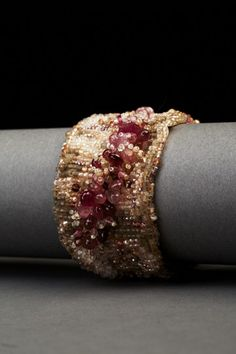Rose Haze Couture Cuff – ANDREA GUTIERREZ JEWELRY