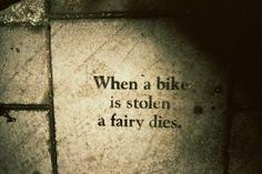 I miss my beautiful bike :(