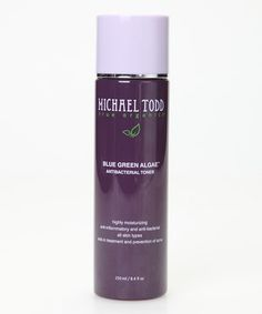 Love this Blue Green Algae Antibacterial Toner by MICHAEL TODD true organics on #zulily! #zulilyfinds