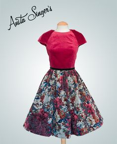 Vestido Teresa By Anita Singers. https://www.facebook.com/pages/Anita-Singers/565541916806170#!/media/set/?set=a.565657120127983.147181.565541916806170&type=3