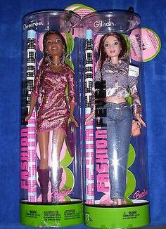 Barbie Fashion Fever Desiree AA and Gillian Lot of 2 RARE Dolls New | eBay