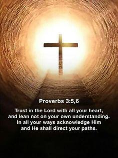 Proverbs 3:5,6