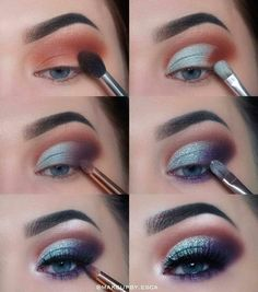 eyeshadow for beginners step by step - eyeshadow for beginners ; eyeshadow for beginners step by step ; eyeshadow for beginners how to apply ; eyeshadow for beginners natural ; eyeshadow for beginners videos ; eyeshadow for beginners blue eyes Makeup Eye Looks, Eye Makeup Steps, Smokey Eye Makeup, Eyeshadow Makeup, Makeup Brushes, Eyeshadow Ideas, Eyelashes Makeup, Summer Eyeshadow, Eyeshadow Palette