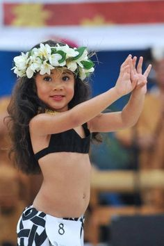 Keiki Hula Dancer // Plumeria Lei // Young Hula Girl // Hawaiian culture and tradition // all beautiful sources of inspiration for us all at Coco Moon Hawaii