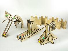 Siege Toys: Desktop Catapults & Ballistas by Michael Woods